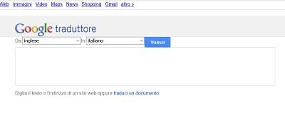 webarchive google traduttore 2011