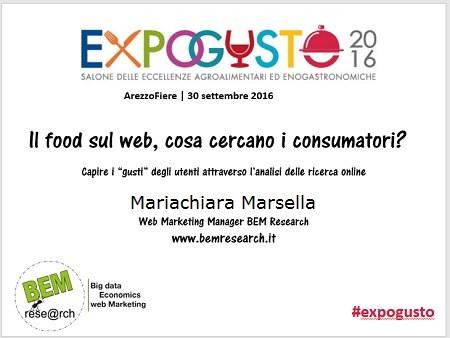 seminario web e food BEM Research