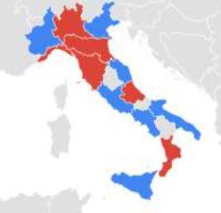 preferenze per regioni italiane