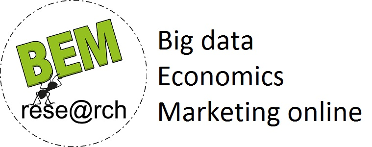 Big data, Economic and Web Marketing