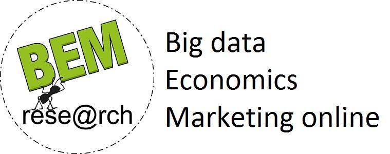 Big data, Economic and Web Marketing