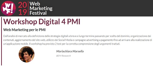 web marketing workshop
