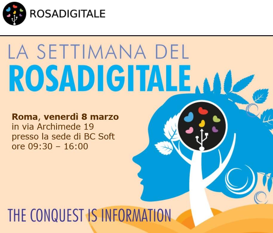 Rosadigitale roma 2019